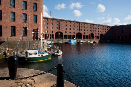 Albert Dock, downtown of Liverpool, UK
