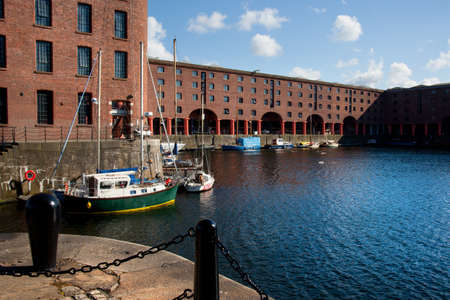 Albert Dock, downtown of Liverpool, UK