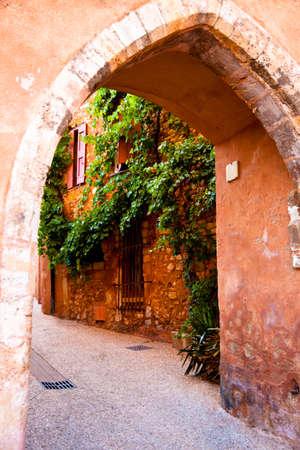 roussillon: Roussillon, Vaucluse, Provence, France