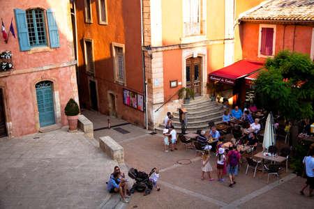 vaucluse: Roussillon, Vaucluse, Provence, France