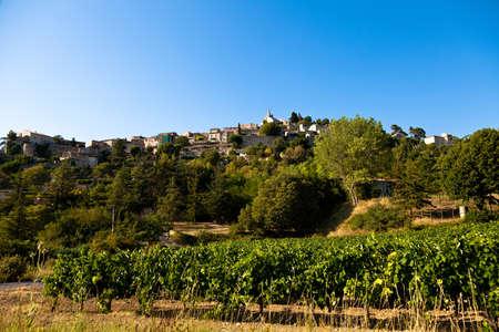 vaucluse: Bonnieux, Vaucluse, Provence, France Stock Photo