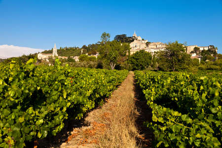 vaucluse: Bonnieux, Vaucluse, Provence, France Stock Photo
