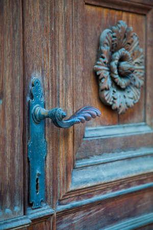 patrimony: Door detail in Vienna, Austria