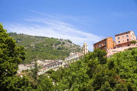 east coast: Village of Cervione, east coast of Corsica, France, Europe