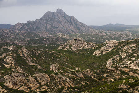 marvellous: Landscape in the north part of Corsica, France, Europe