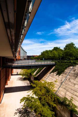 cite: PALAIS DE CONGRES, CITE INTERNATIONAL, LYON, FRANCE, Architect RENZO PIANO BUILDING WORKSHOP  Cite Centre de Congrès Lyon, Lyon Convention Center, France, Europe