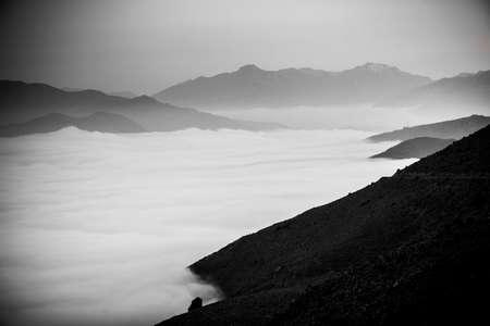 Landscape in Muratto, Corsica