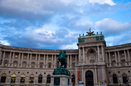burg: Noue Burg museums in Hofburg, Vienna, Austria