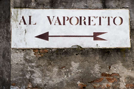 ideogram: Vaporetto is a transport to cross the Grand Canal in the Italian city of Venice