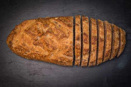 Organic homemade bread