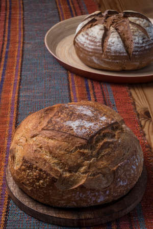 commensurate: Organic homemade bread