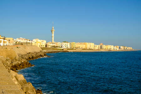 View of Cadiz, Andalusia, Spain