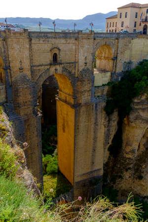 nuevo: Puente Nuevo birdge in Ronda, Andalusia, Spain