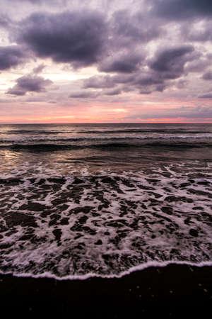 lanzarote: Sunrise in Lanzarote, Canary Islands, Spain Stock Photo