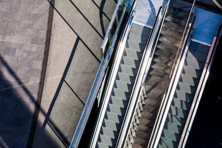 repetition: stairway to subway Stock Photo