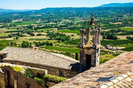 ラコステ村プロヴァンス フランス ヨーロッパ 写真素材 - 73047935