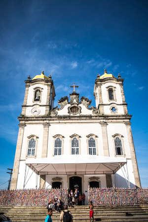 Salvador, Brazil - October 26, 2016: Igreja Nosso Senhor do Bonfim church, Salvador (Salvador de Bahia), Bahia, Brazil, South America