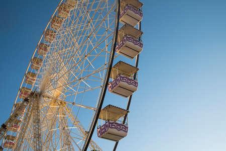 ferriswheel: Avignon, France - July 16, 2016: Ferris wheel in Avignon Provence France Editorial