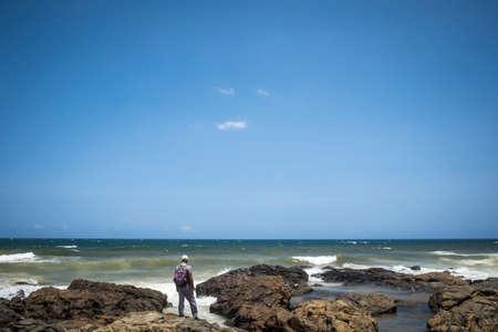 persona viajando: Beach in Salvador Bahia Brazil Southamerica
