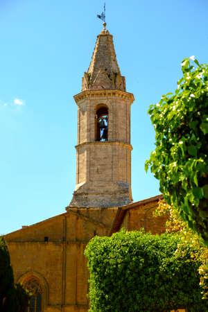 pienza: cathedral of Pienza, Tuscany, Italy