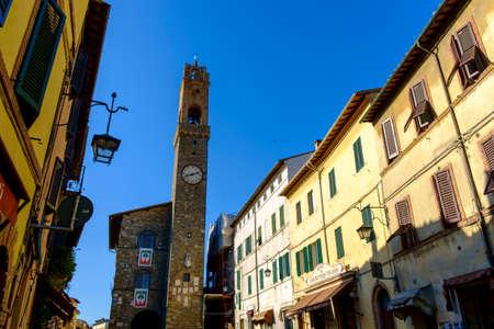 priori: Montalcino, Italy - May 10, 2014: Palazzo dei Priori Palace in Montalcino Italy Editorial