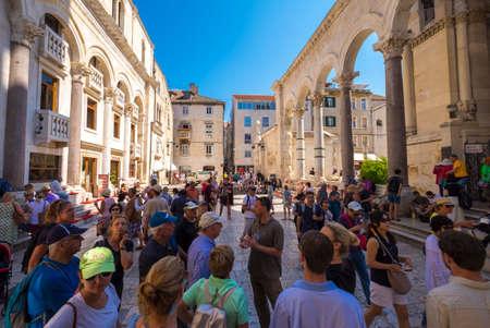 southeastern: Historic city of Split, Diocletian Palace, Dalmatia, Croatia