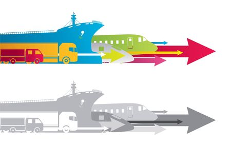 express: transportation Stock Photo