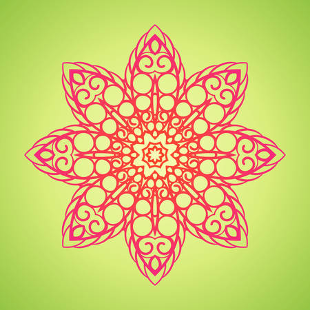 Vintage Mandala pattern.