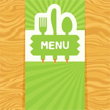 Illustration for menu banner