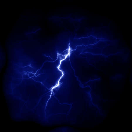 Lightning template for design. Electric discharge in the sky. Thunderbolt nature image 版權商用圖片