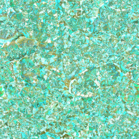 Seamless texture of crystal colorful raw gemstone. Nature tile jewelry turquoise glamor background