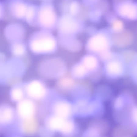 Seamless vector glow bokeh spray background. Vibrant colorful blurred square pattern with glitter particles with depth of field effect 矢量图像