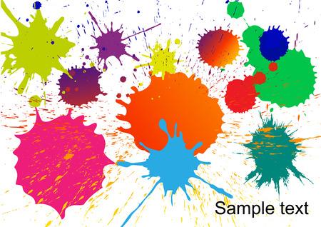 colors paint: colors paint splash vector, colors splash, colorful paint, abstract paint colors