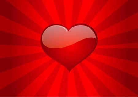 saint valentin coeur: aimer amour coeur saint valentin vecteur de coeur