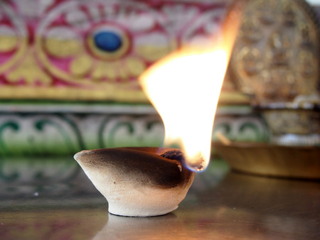 marathi: Candles for rituals of Hinduism
