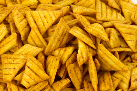 sev: Fried Triangle Chips food