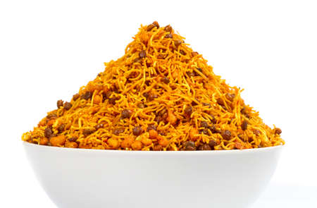 Indian special traditional salty food Dal Moth Namkeen