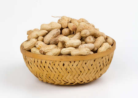 Group of Healthy and tasty peanuts food