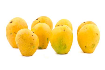 Indian Tropical fruits Badam Mango Stock Photo