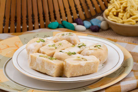 Indian special traditional sweet food Thor