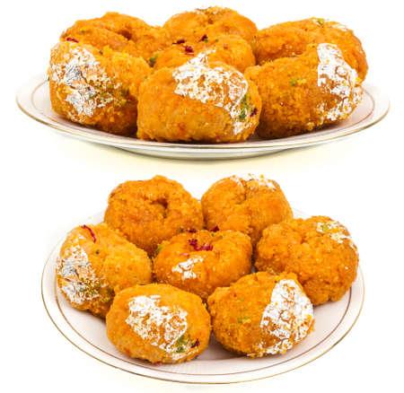 Indian traditional sweet food balushahi Stock Photo