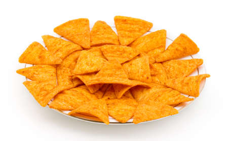 ramzan: Chunchy and spicy triangle Chips