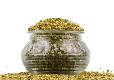 Indian traditional grain food mung beans