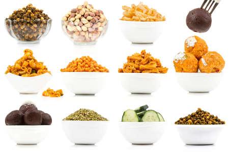 Indian culture mélange alimentaire variété Banque d'images - 88569140