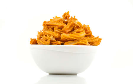 indian traditional spicy Soya snack food Stock Photo