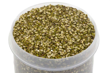 vigna: Mung bean split Pulse unpolished with cover