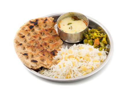Indian Cuisine Thali Food