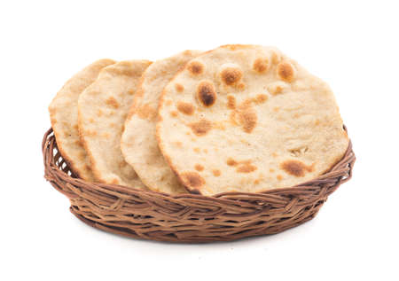 Chapati Or Tanturi Roti Indian whole wheat flat