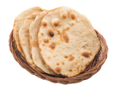 Chapati Or Tanturi Roti Indian whole wheat flat