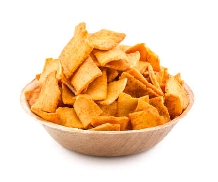 Indian Healthy Deep Fried Soya Chips Tea time Snack